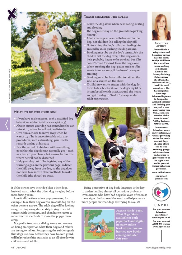 Dogs Monthly 2017 Page 3